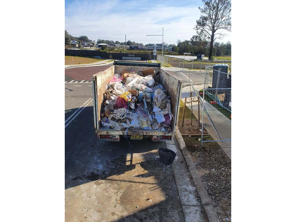 Unrecyclable mixed waste