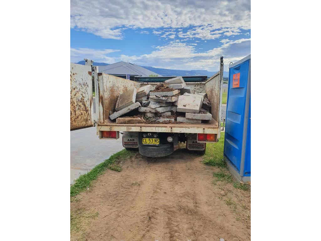 Rubble and concrete recycling