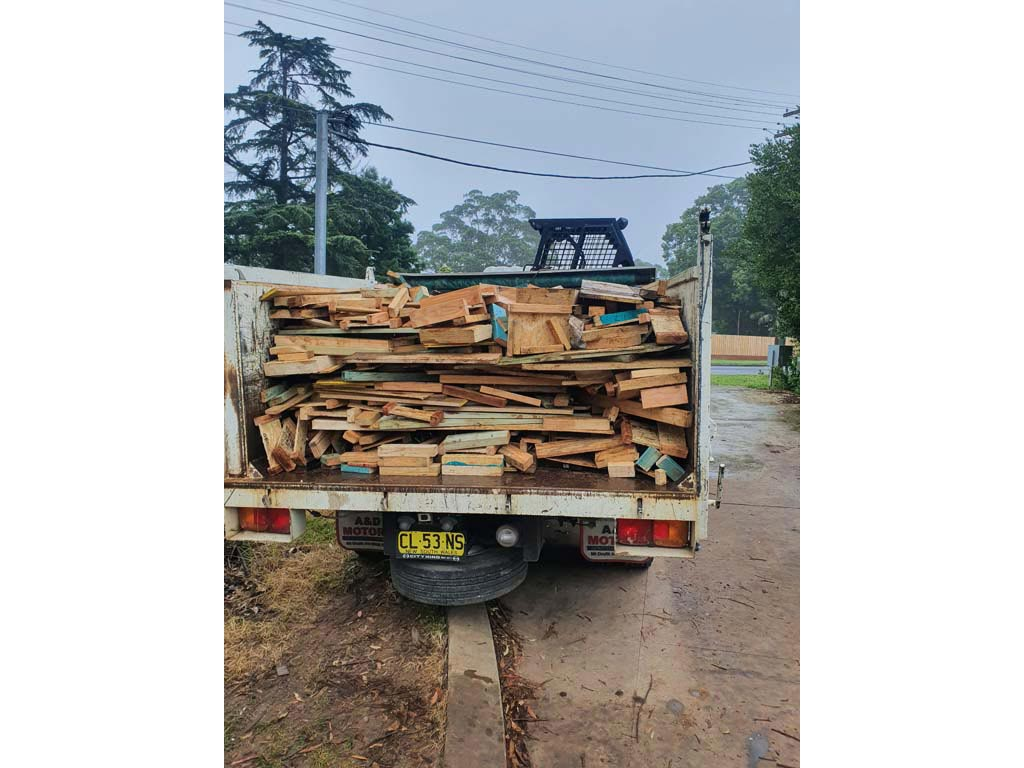 Timber and steel recycling